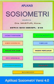 Aplikasi Sosiometri Versi 4.0