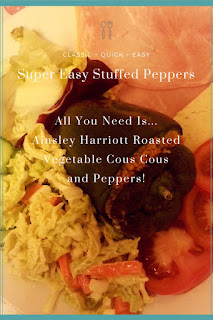 These Stuffed Peppers are so easy to make, but look really skillful once finished!
