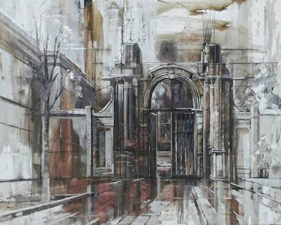 Pintura a l'oli d'Aida Mauri, Uclés