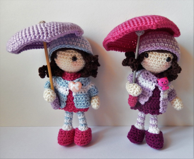 Amigurumi Autunm Girls-Free Pattern