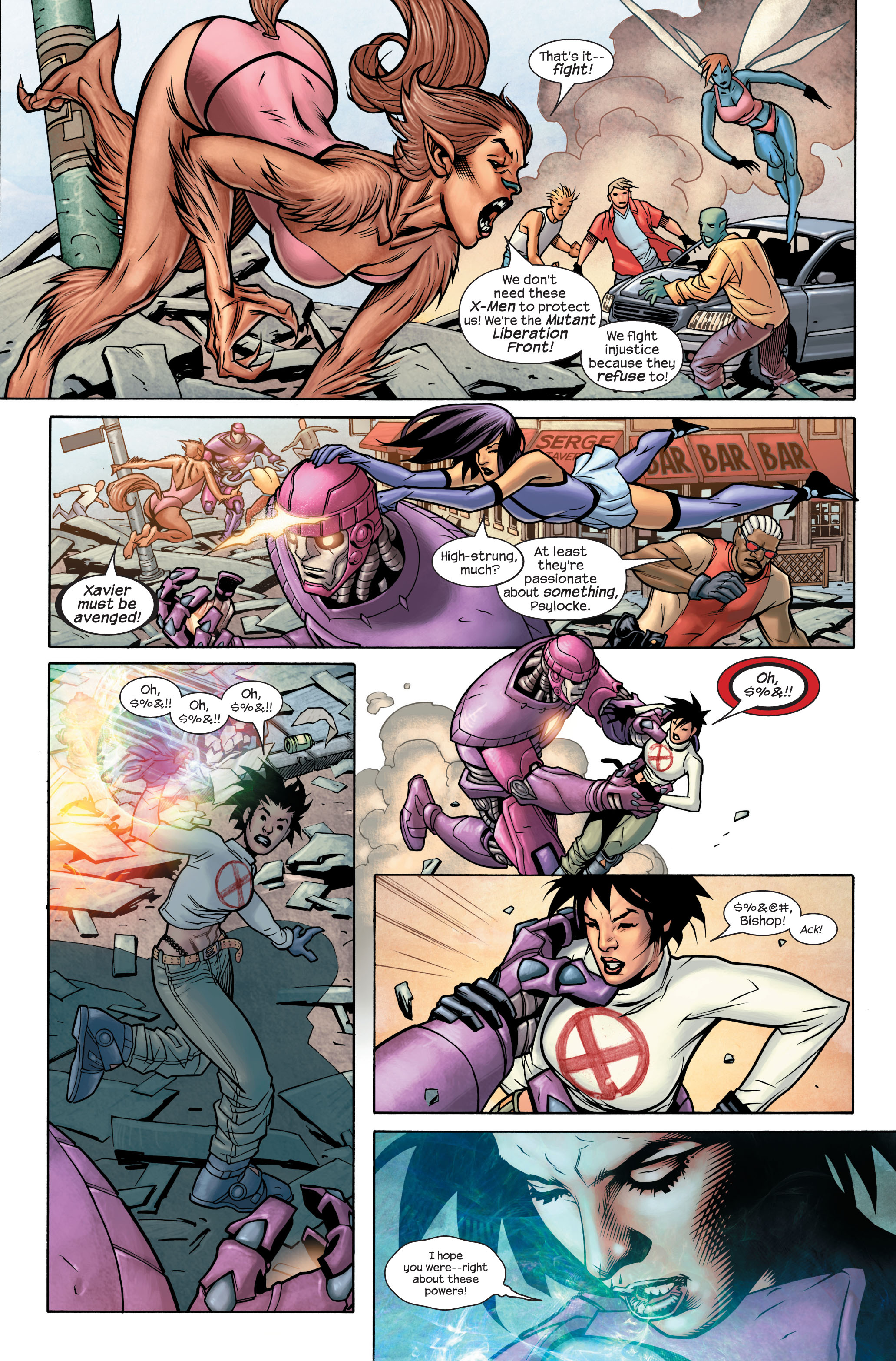Read online Ultimate X-Men comic -  Issue #85 - 9