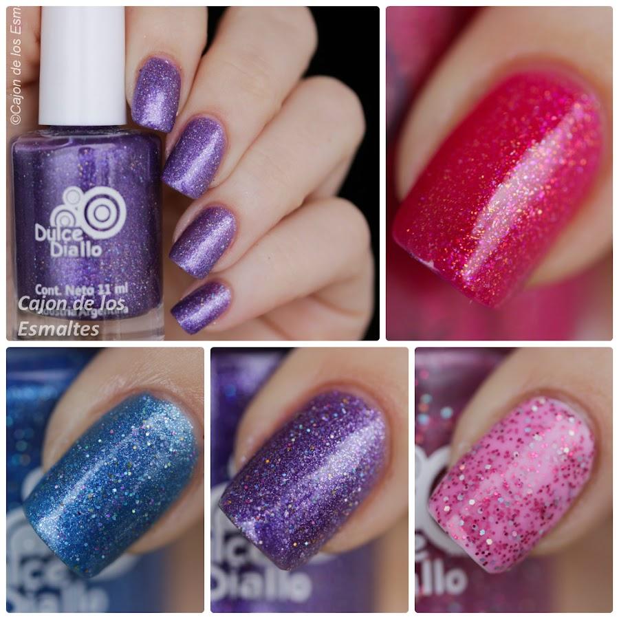 Esmaltes de uñas Dulce Diallo