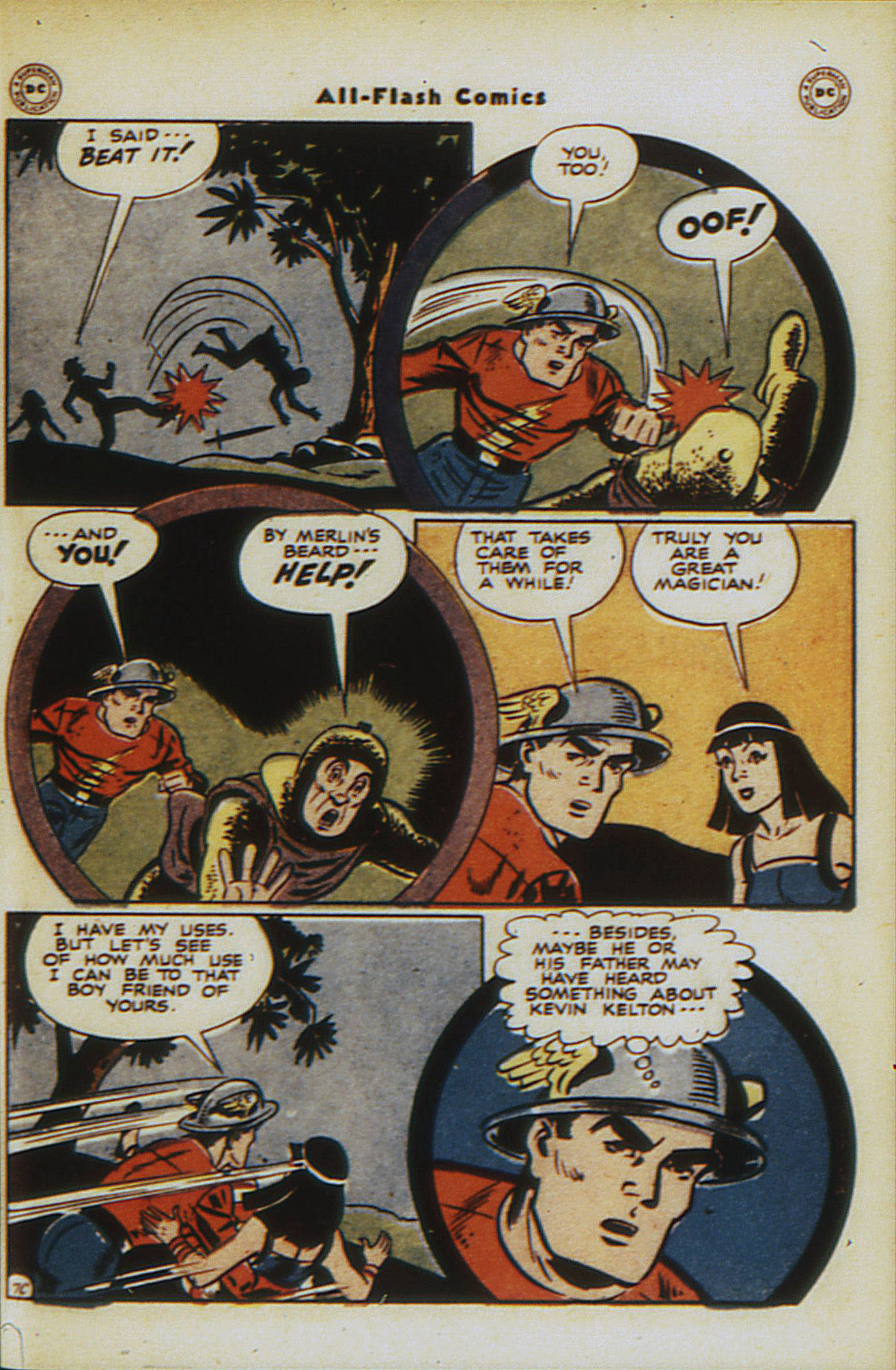 Read online All-Flash comic -  Issue #30 - 45