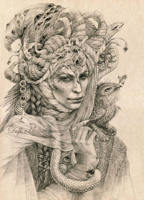 15-Master-of-Dreams-Olga-Anwaraidd-Drawings-Fantasy-Portraits-Imaginary-Characters-www-designstack-co