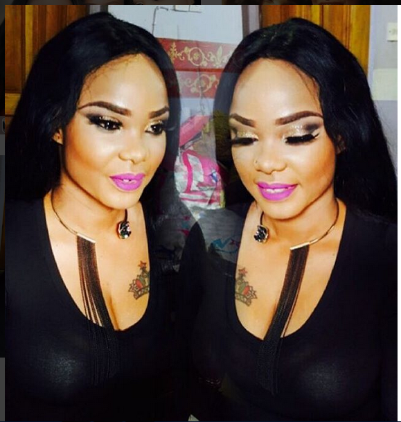 Actress Iyabo Ojo Stuns In This Red Outfit