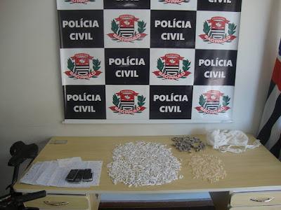 POLÍCIA CIVIL DE REGISTRO DUAS TRAFICANTES EM REGISTRO-SP