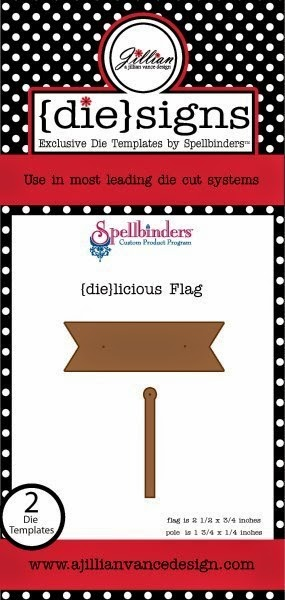 {die}licious Flag Banner and Pole