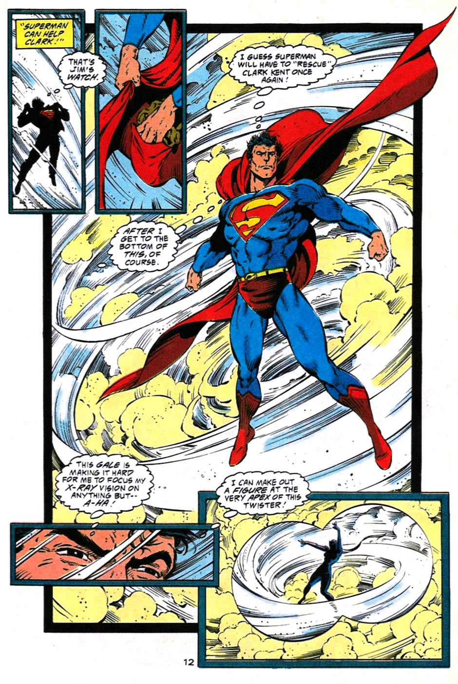 Read online Adventures of Superman (1987) comic -  Issue #490 - 13