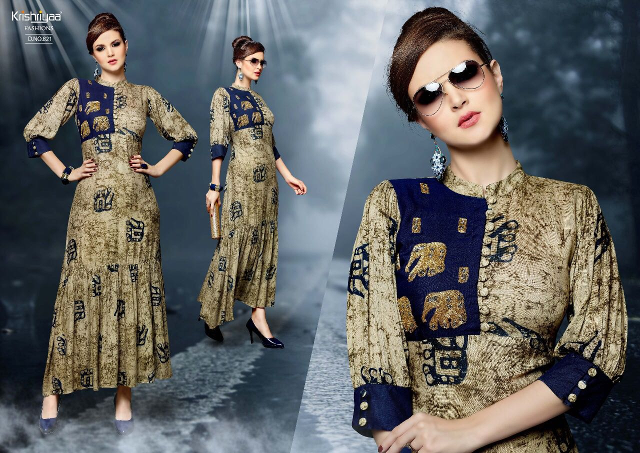 CZARINA-New Arrival Designer Rayon Kurti