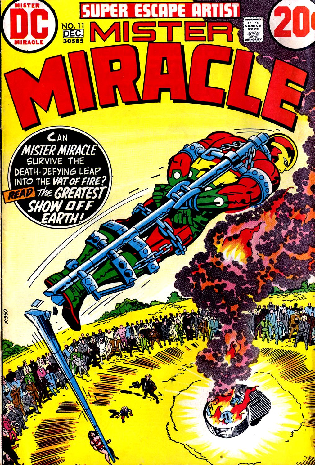 Mister Miracle (1971) issue 11 - Page 1