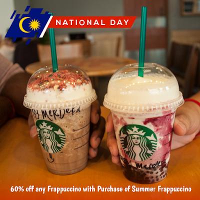 Starbucks Malaysia Frappuccino Discount Offer Promo