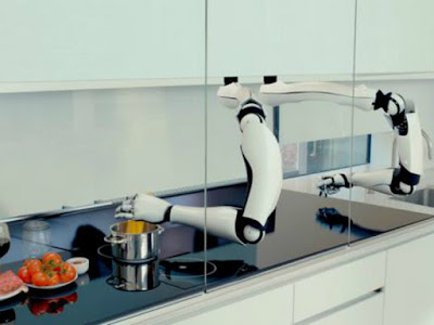 internet de las cosas, robot cocinero