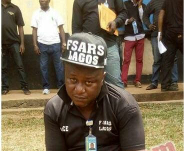 Fake Lagos SARS Operative Arrested In Edo (Photo)