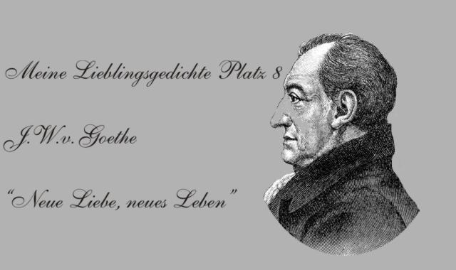 Gedichte Und Zitate Fur Alle Meine Lieblingsgedichte J W V Goethe