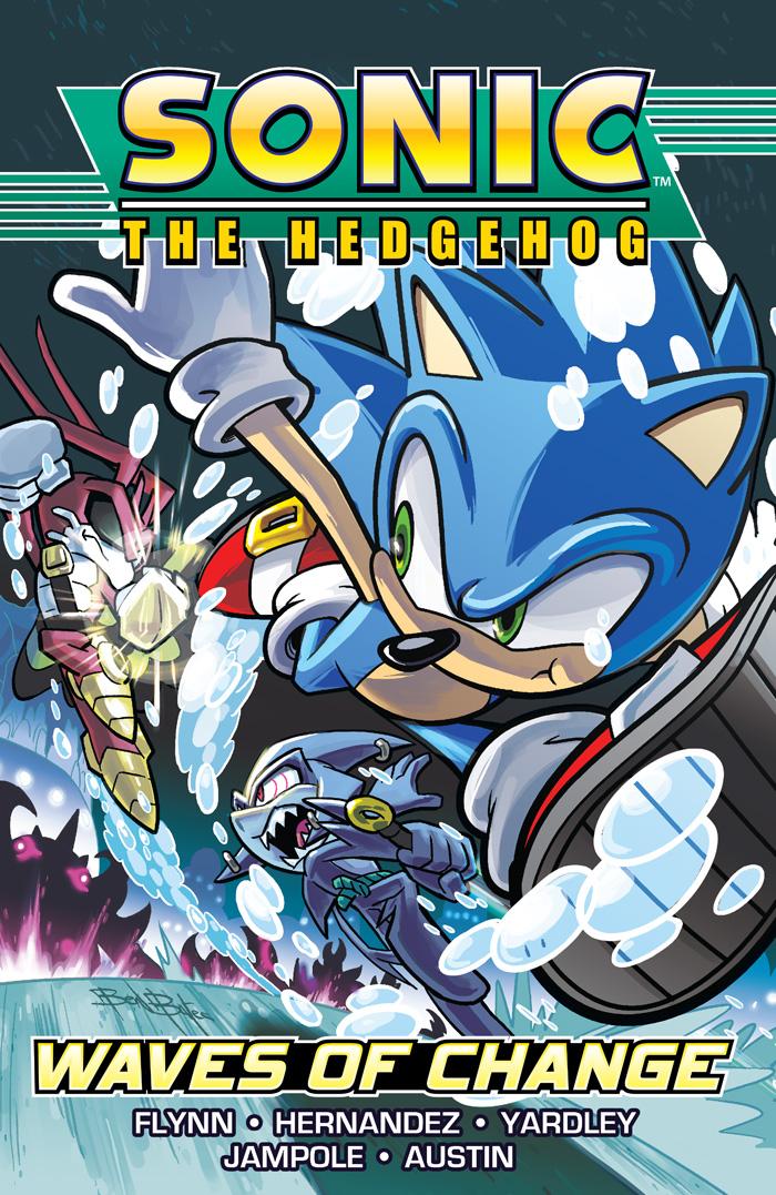 PREVIEW Sonic The Hedgehog Vol 3 Waves Of Change TPB By Ian Flynn Aleah Baker Jennifer Hernandez Et Al