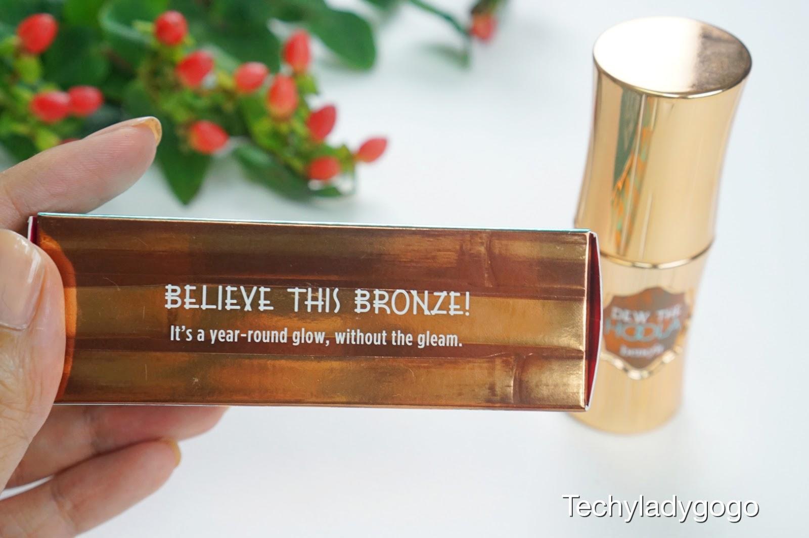 Benefit Dew The Hoola Liquid Bronzer รีวิวบรอนเซอร์ชนิดเหลว soft matte ผิวโกลว์ได้ทั้งปี ไม่ง้อแดด