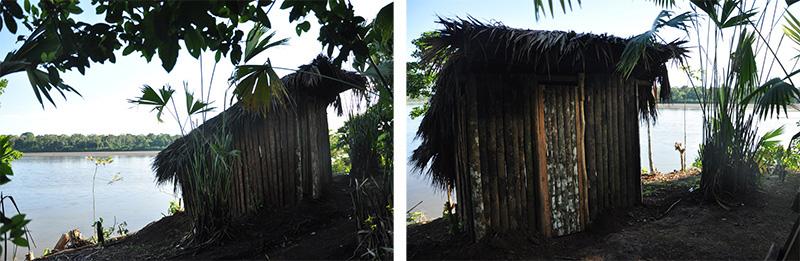 toilettes communauté achuar de Napurak