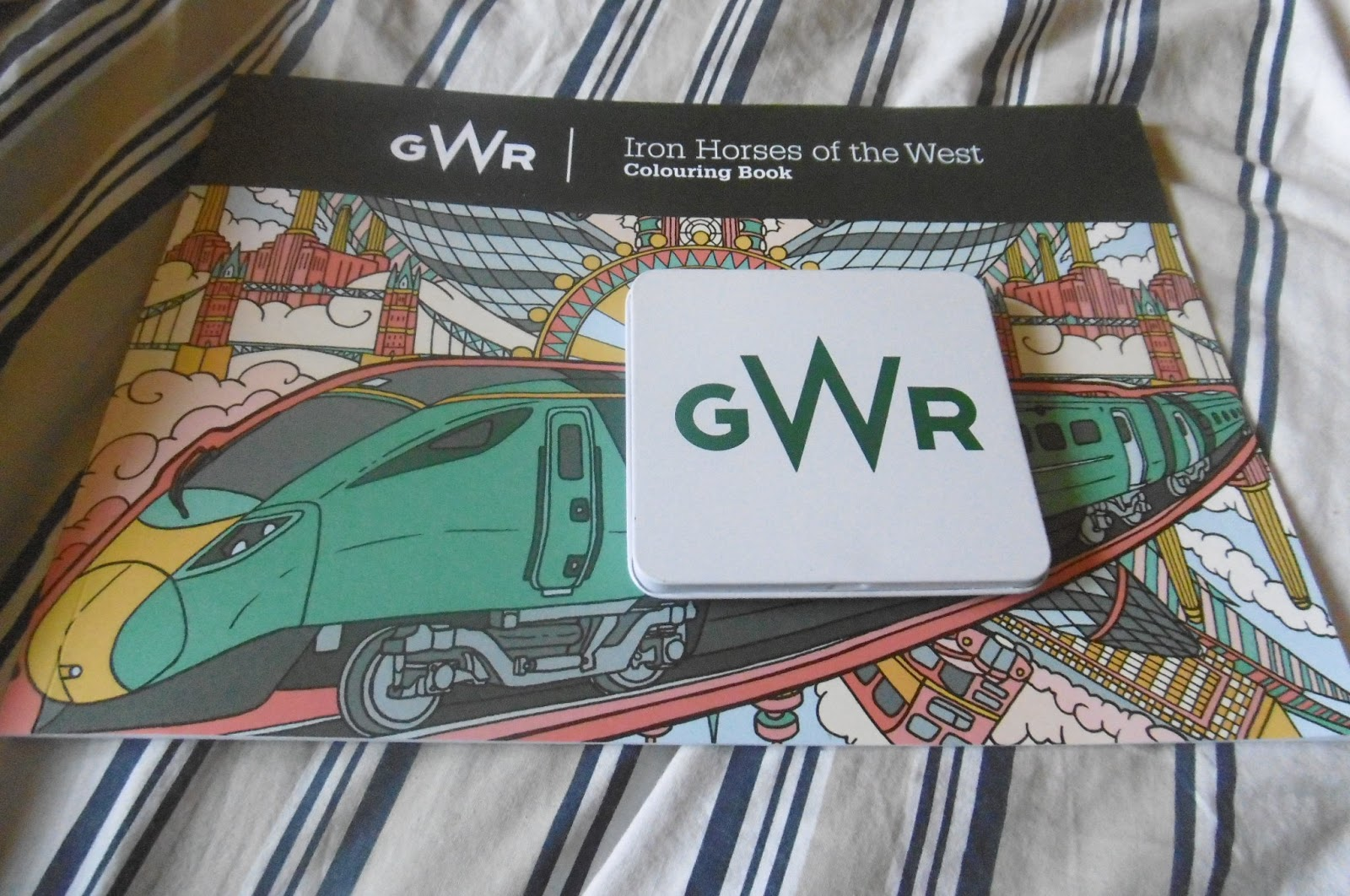 GWR Iron Horses Of The West Colouring Books