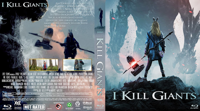 I Kill Giants Bluray Cover