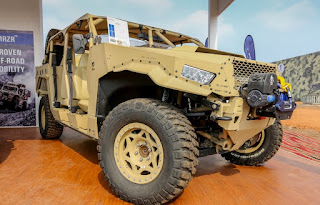 DAGORT-Deployable Advance Ground Off-Road on display at Defexpo 2016