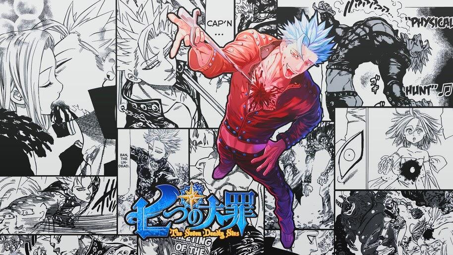 Ban, [Nanatsu no Taizai], Manga, 4K, #4.1078