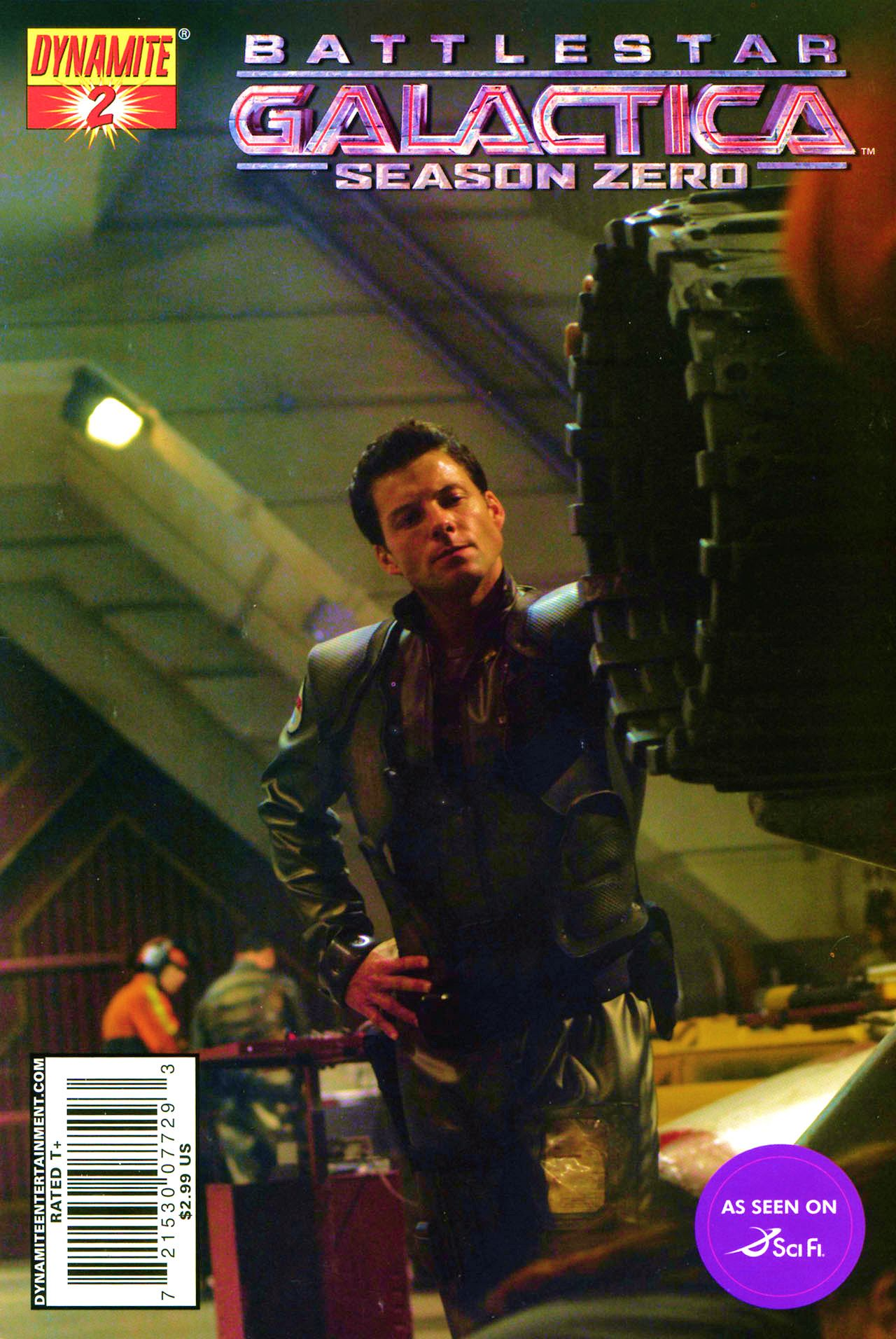 Battlestar Galactica: Season Zero 2 Page 1