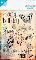 Afbeeldingsresultaat voor stempels noor design happy birthday