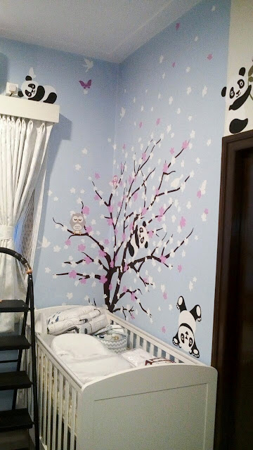 Customised wall mural design