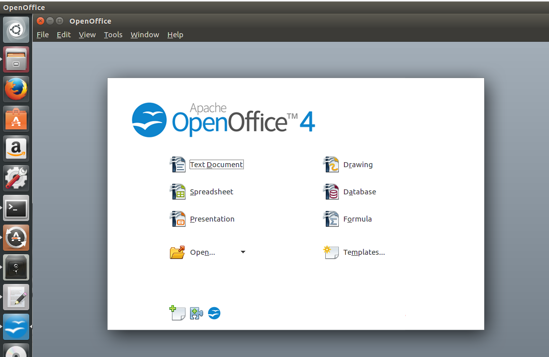 openoffice ubuntu