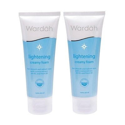 Wardah lightening creamy foam vs gentle wash