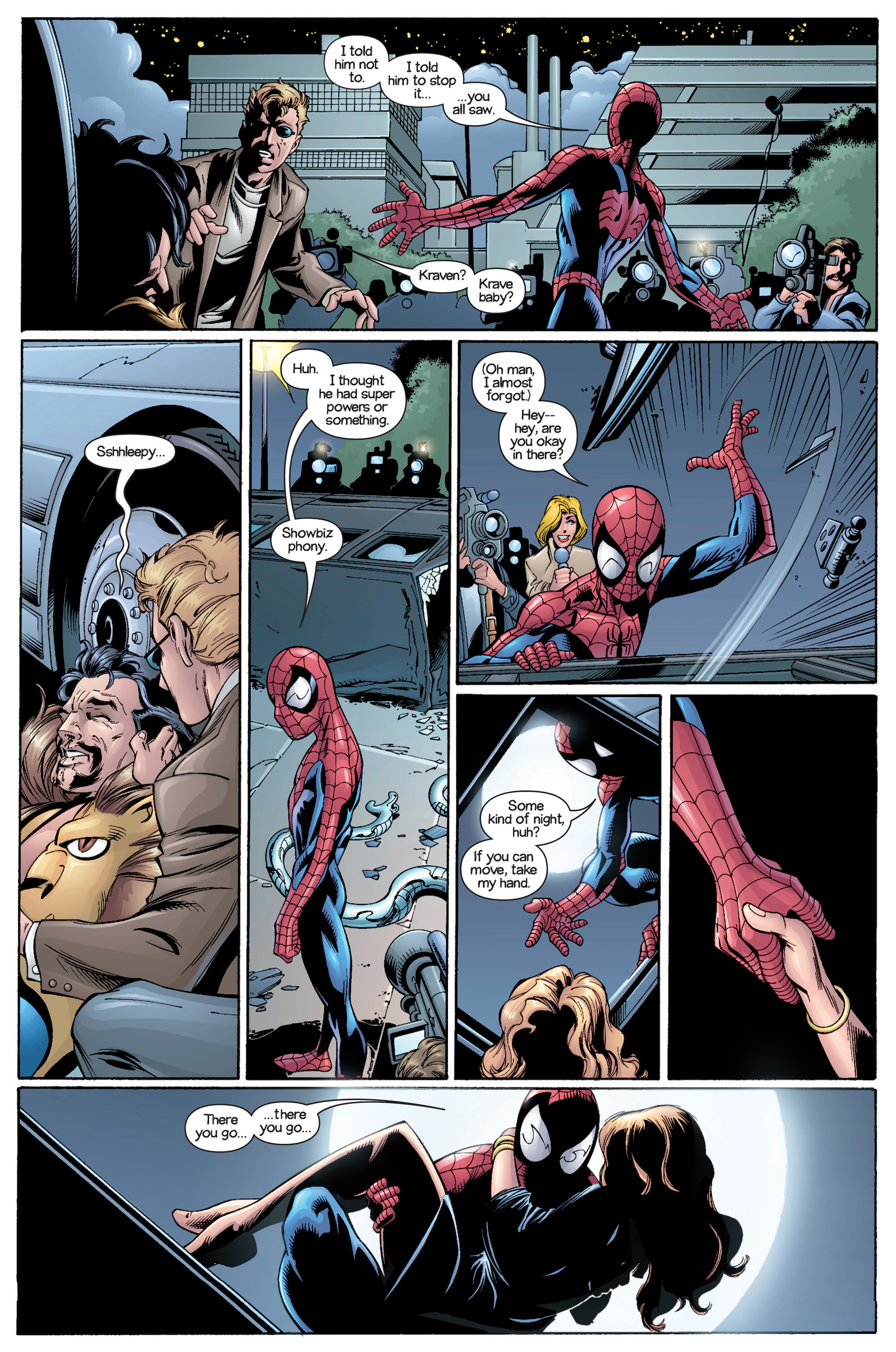 Read online Ultimate Spider-Man (2000) comic -  Issue #21 - 6