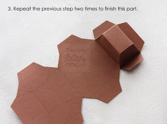 DIY paper chocolade bar