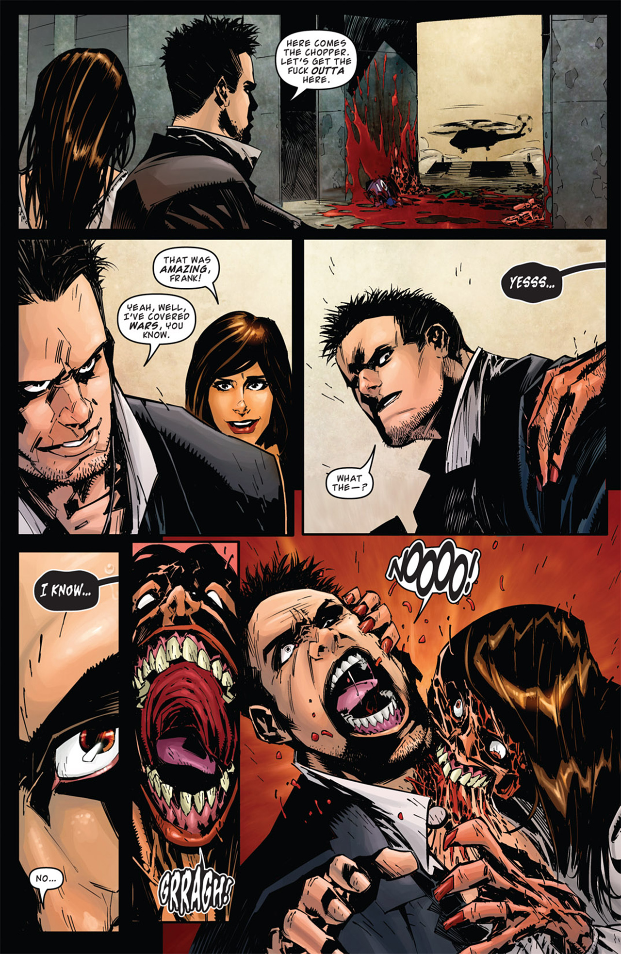 Read online Dead Rising: Road to Fortune comic -  Issue # TPB - 15