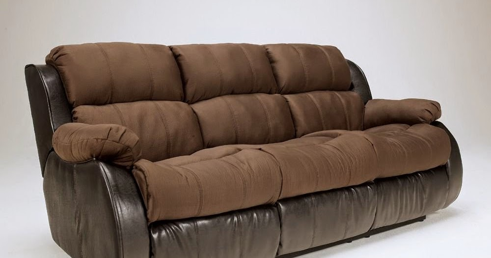 The Best Reclining Sofa Reviews: Presley Cocoa Reclining ...