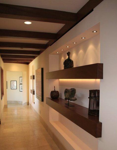 Amazing Gypsum Board Wall Shelves Designs Decor Units