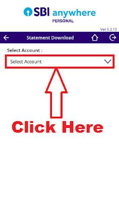 download pdf statement through sbi anywhere app