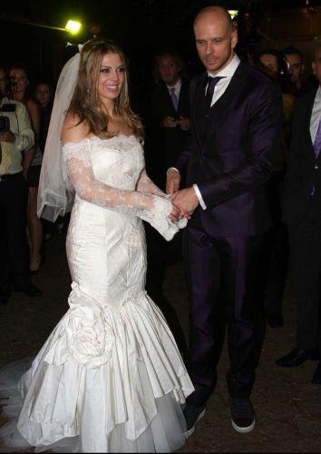 Vestido noiva estilo sereia das famosas, Sheilla Mello