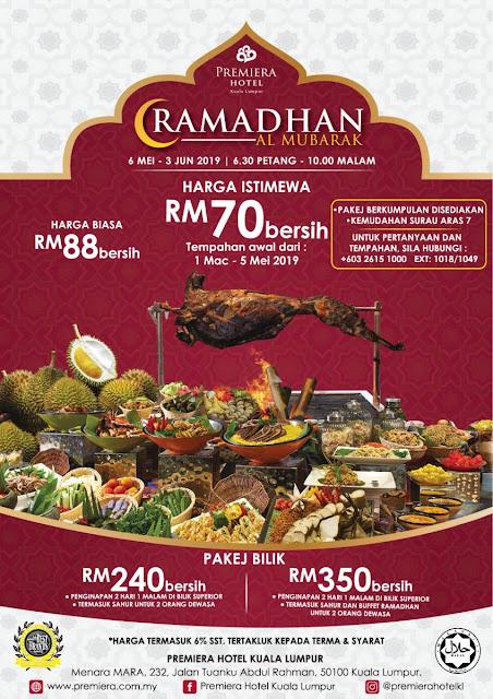 Ramadhan Promo Premiera Hotel Malaysian Foodie