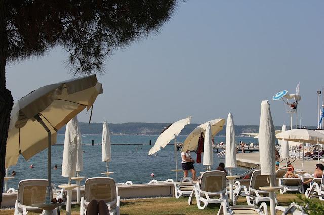 beach portoroz slovenia