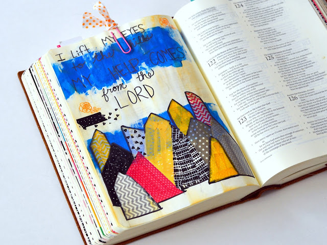 decorative tape, journaling bible