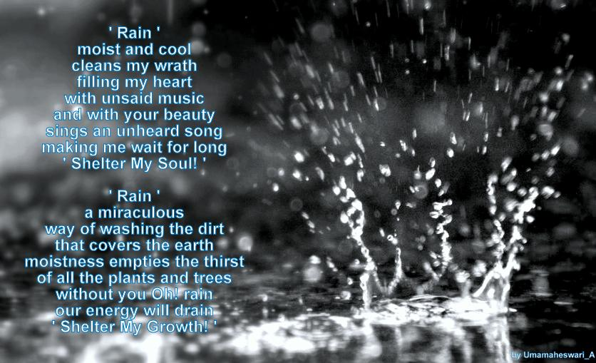 Rain Poems And Quotes. QuotesGram