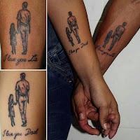 tatuajes de padre e hija te amo
