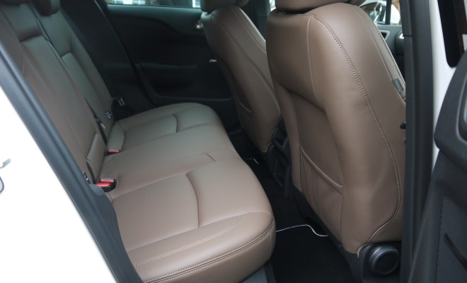 Citroen DS4 rear seating