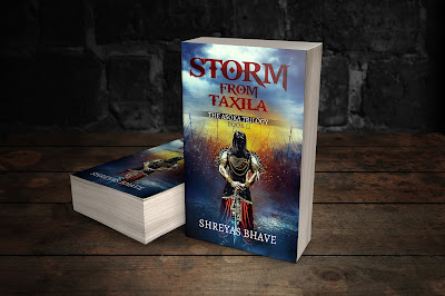 #BookBlitz :: Storm From Taxila (The Asoka Trilogy #2) by Shreyas Bhave
