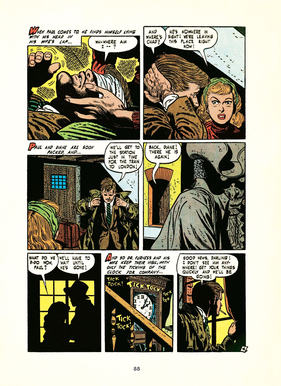 Read online Setting the Standard: Comics by Alex Toth 1952-1954 comic -  Issue # TPB (Part 1) - 87