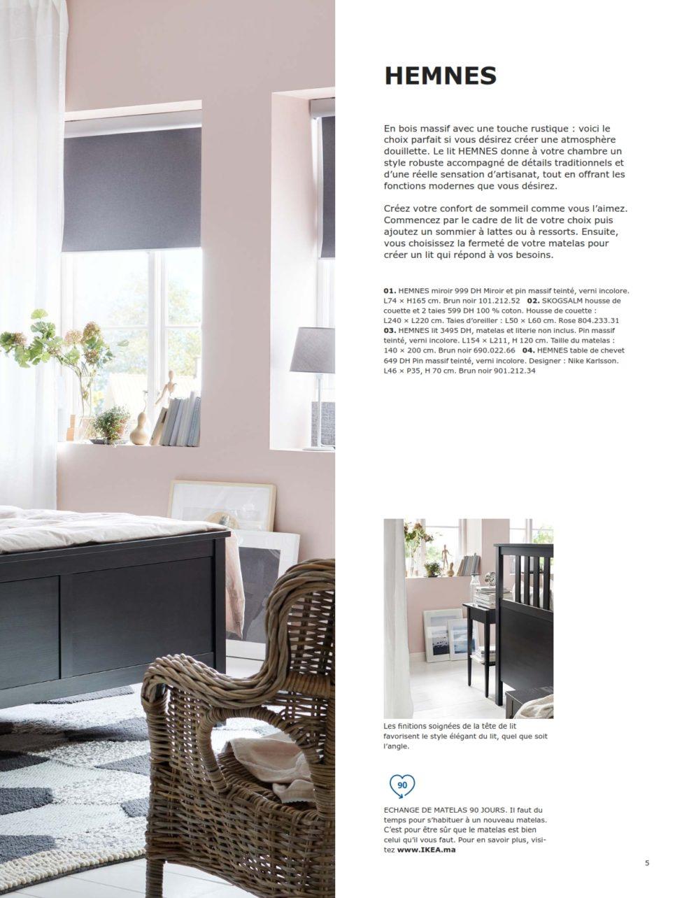 Catalogue IKEA Maroc Chambres à Coucher 2019