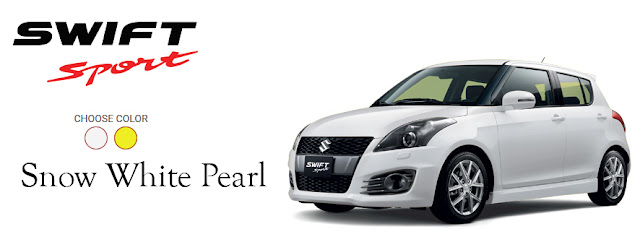 New Swift Sport: 'More Swift, More Sporty'