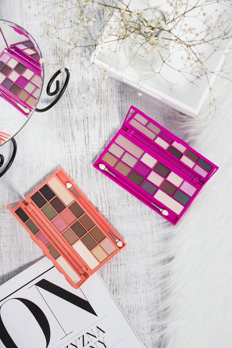 Nowe palety czekoladowe Makeup Revolution: Chocolate and Peaches i Chocolate Love