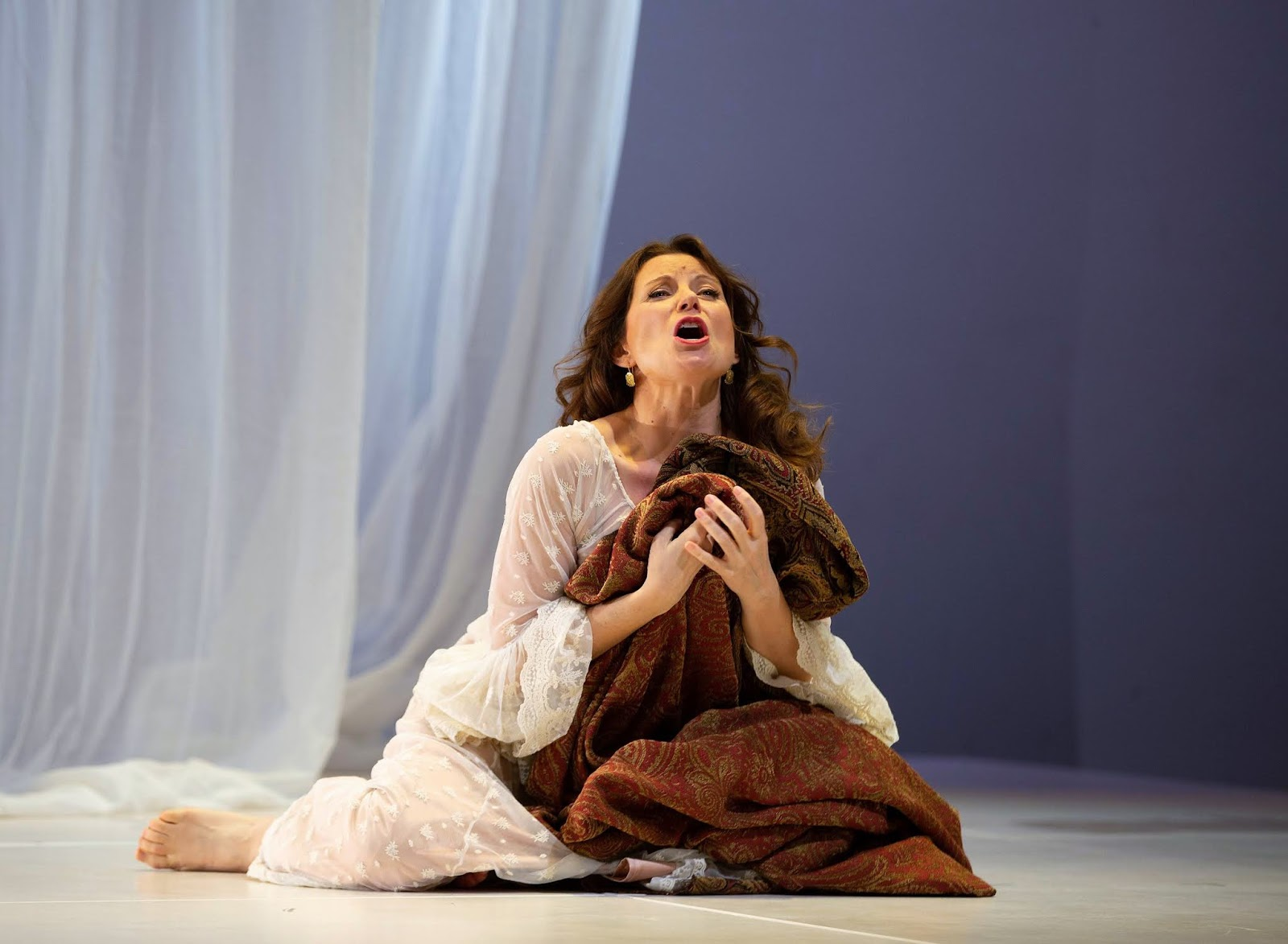 IN REVIEW: mezzo-soprano AMANDA CRIDER in the title rôle of Florentine Opera's March 2019 production of Claudio Monteverdi's L'INCORONAZIONE DI POPPEA [Photograph by Kathy Wittman, © by Ball Square Films]