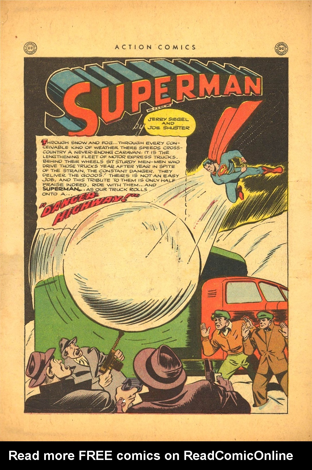 Read online Action Comics (1938) comic -  Issue #87 - 2